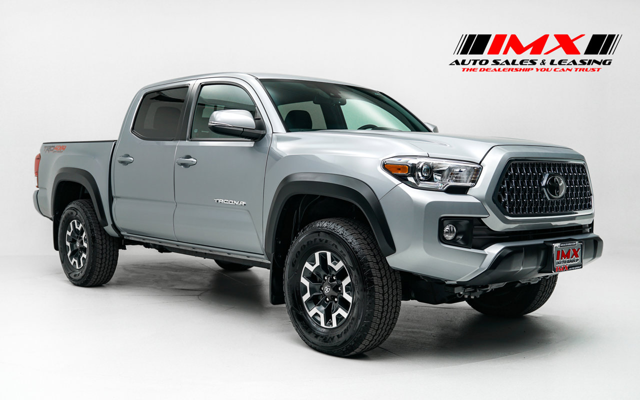 2019 Toyota Tacoma 4WD TRD Off Road TRD Off Road Double Cab 5′ Bed V6 AT Regular Unleaded V-6 3.5 L/211 [6]