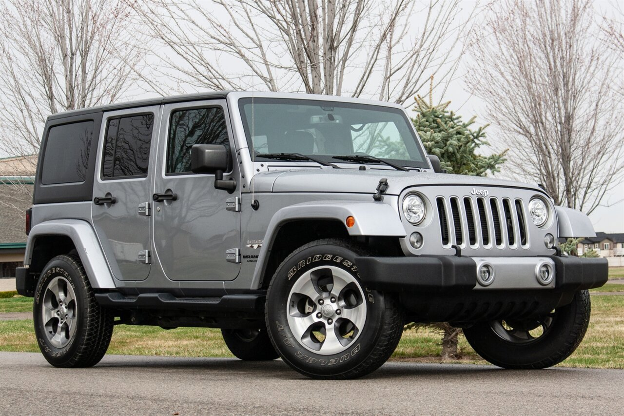 Used 2017 Jeep Wrangler Unlimited in Boise, IDss