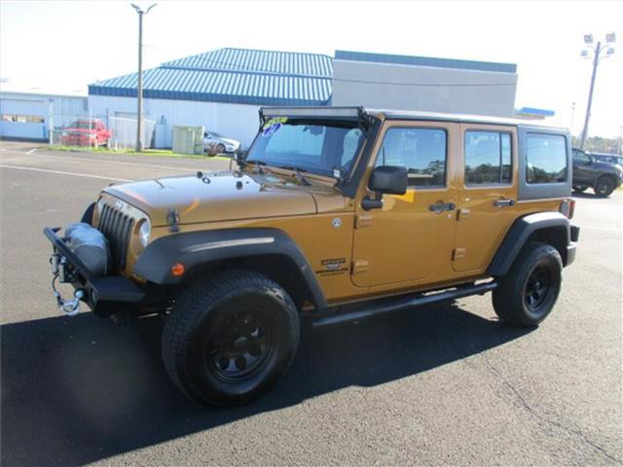 Used 2014 Jeep Wrangler Unlimited in Dothan, AL