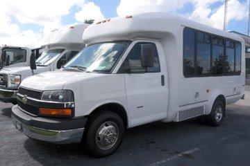 2011 Chevrolet Express Passenger Bus Diesel