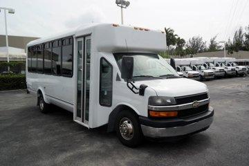 2012 Chevrolet G-4500 21 Passenger Bus Diesel