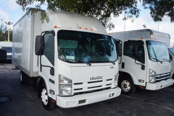 2013 Isuzu NPR 16 ft Box Truck