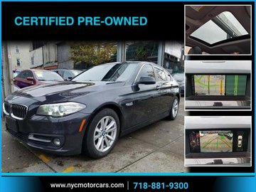 2016 BMW 5 Series 528i xDrive Navigation