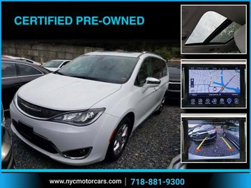 2017 Chrysler Pacifica Limited Navigation
