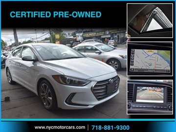 2017 Hyundai Elantra Limited Navigation