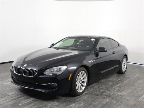 2015 BMW 6 Series 640i Coupe RWD