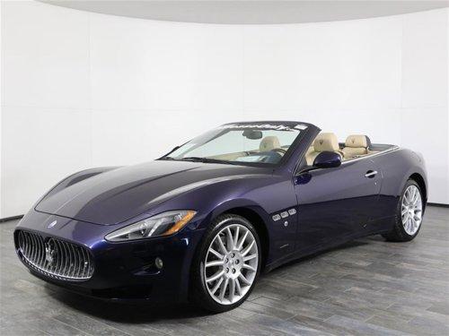 2015 Maserati GranTurismo Convertible RWD