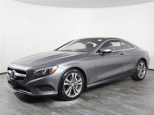 2016 Mercedes-Benz S-Class S 550 Coupe 4MATIC AWD