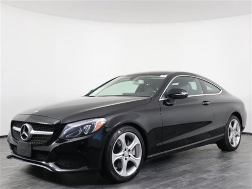 2017 Mercedes-Benz C-Class C 300 Coupe 4MATIC AWD
