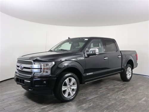 2018 Ford F-150 V6 SuperCrew Platinum Diesel 4X4