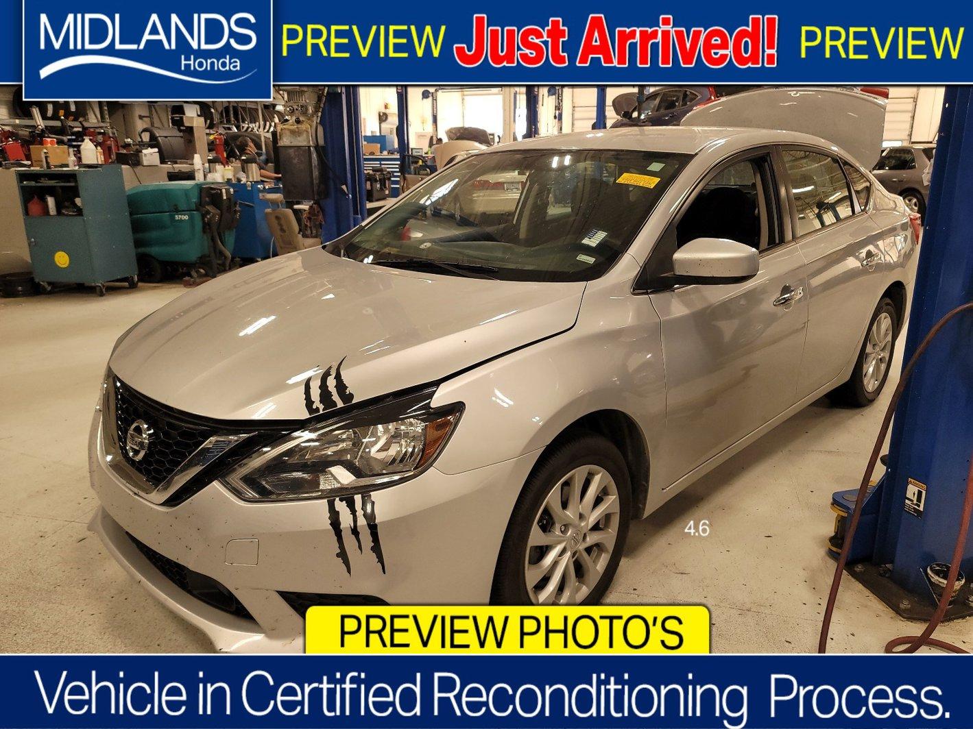 2019 Nissan Sentra SV SV CVT *Ltd Avail* Regular Unleaded I-4 1.8 L/110 [5]