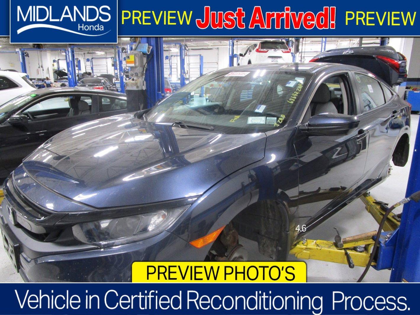 2019 Honda Civic Sedan EX EX CVT Intercooled Turbo Regular Unleaded I-4 1.5 L/91 [17]