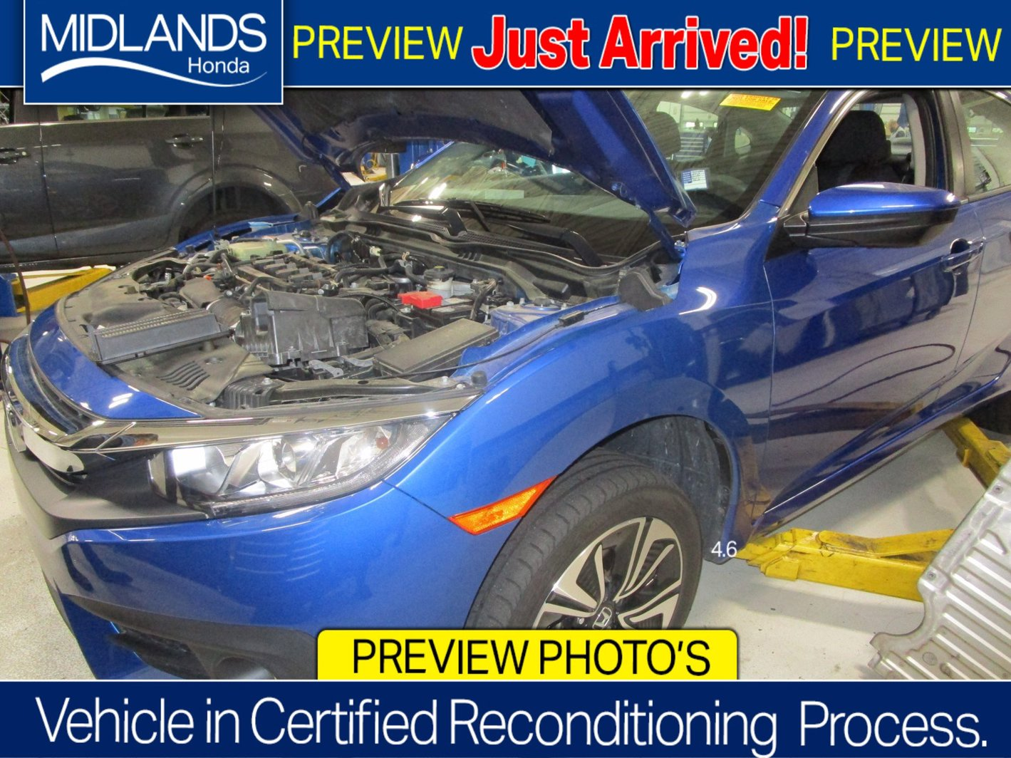 2016 Honda Civic Sedan EX-T 4dr CVT EX-T Intercooled Turbo Regular Unleaded I-4 1.5 L/91 [16]