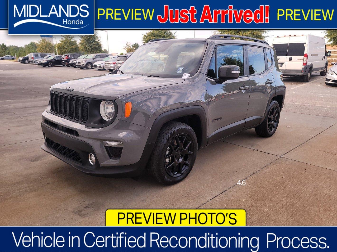 2020 Jeep Renegade Altitude Altitude FWD Regular Unleaded I-4 2.4 L/144 [3]