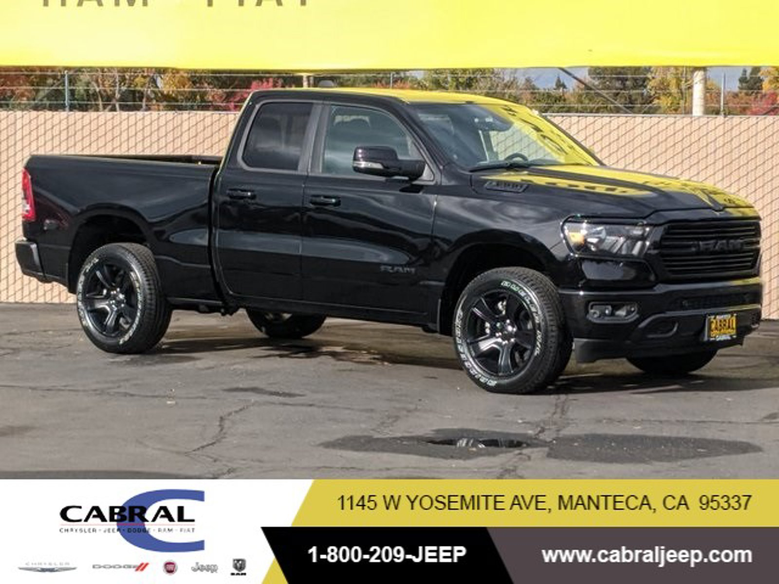 2021 Ram 1500 Big Horn Big Horn 4x4 Quad Cab 6'4″ Box Regular Unleaded V-8 5.7 L/345 [8]