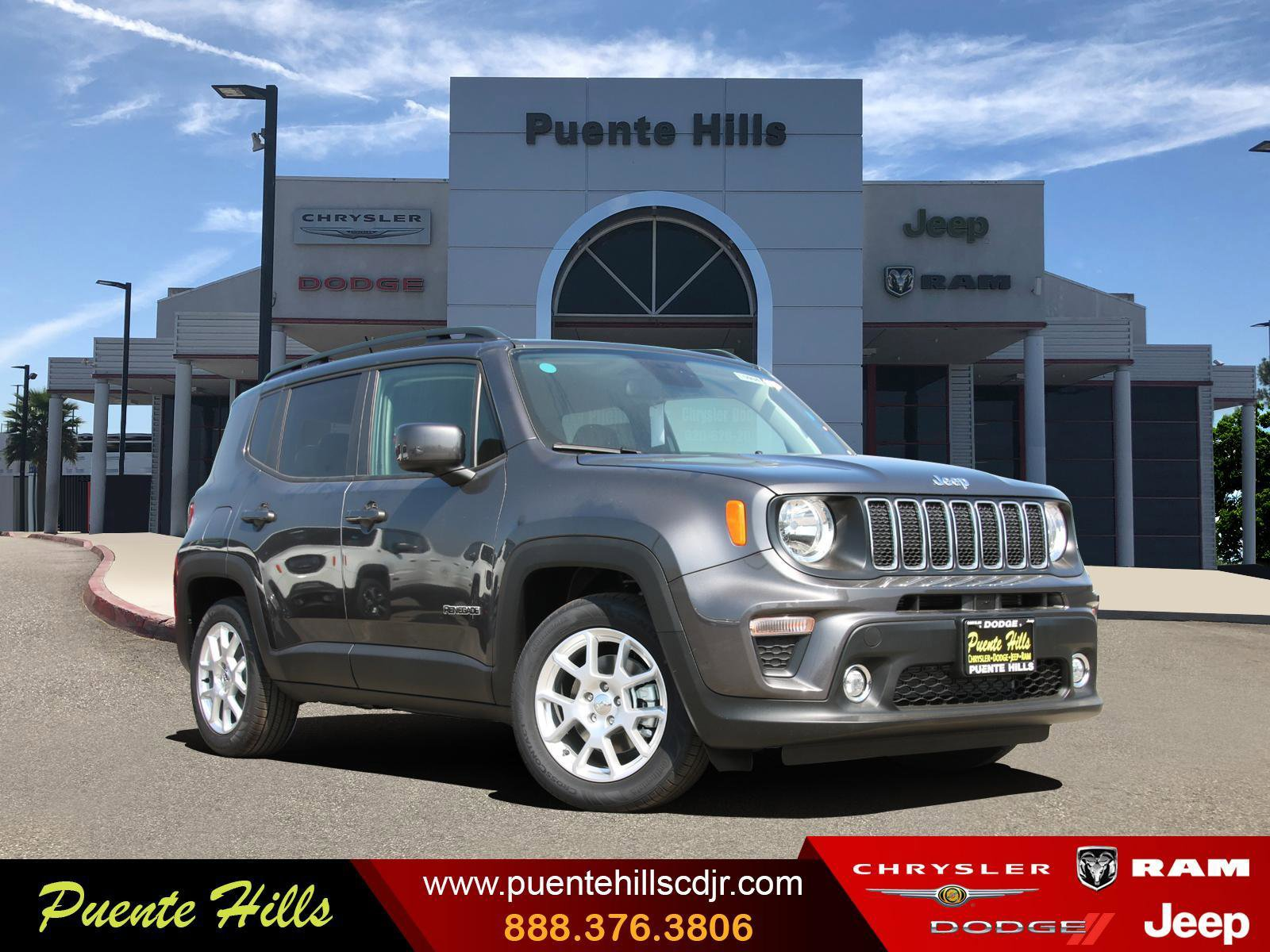 2020 Jeep Renegade Latitude Latitude FWD Regular Unleaded I-4 2.4 L/144 [3]