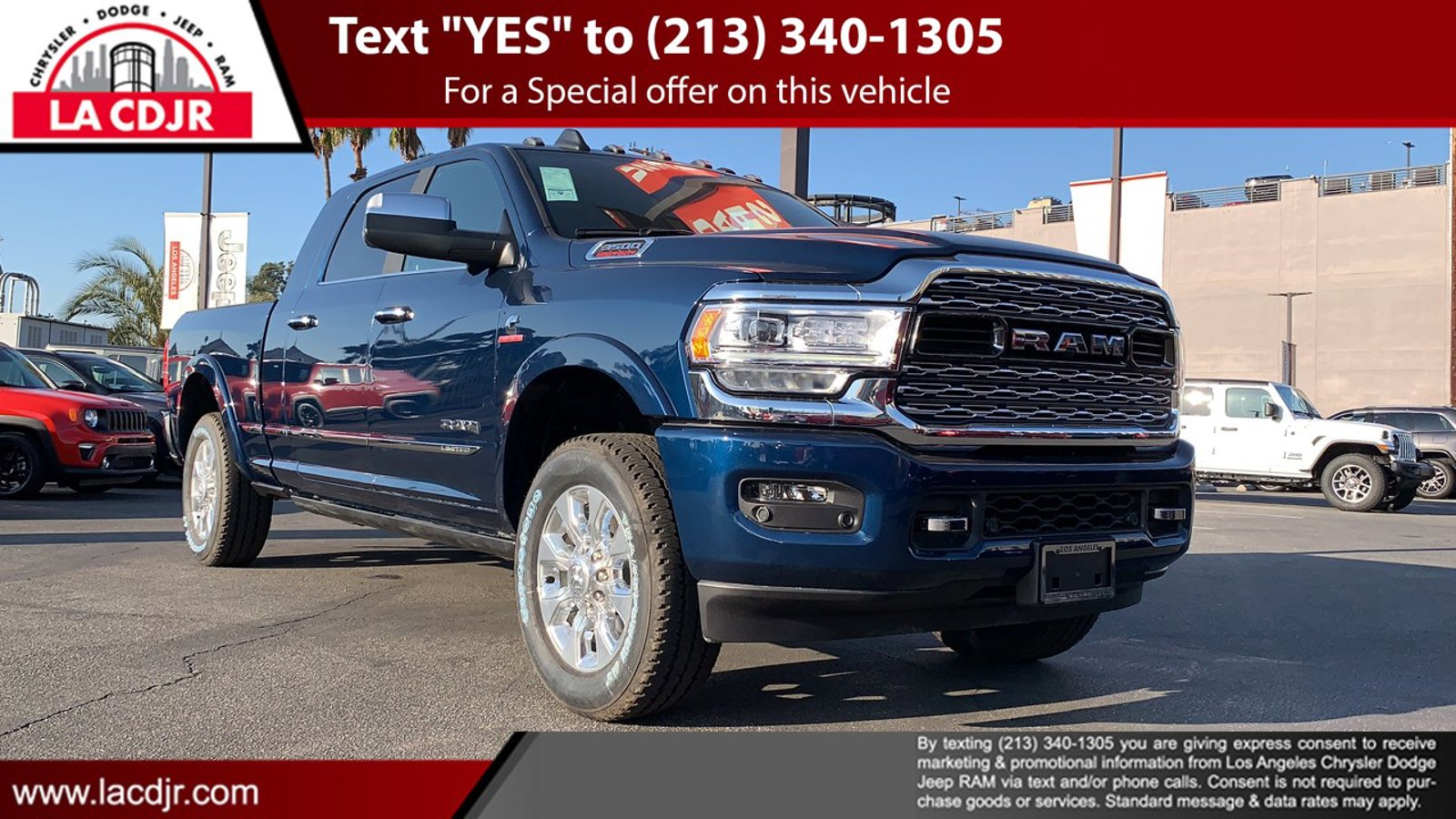 2020 Ram 3500 Limited Limited 4x4 Mega Cab 6'4″ Box Intercooled Turbo Diesel I-6 6.7 L/408 [1]