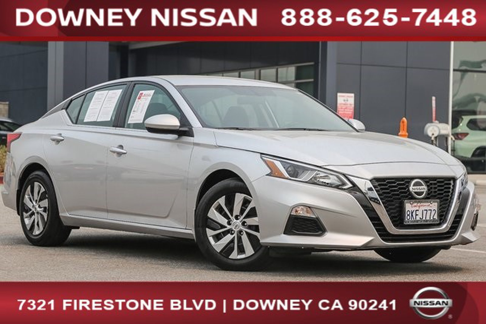 2019 Nissan Altima 2.5 S 2.5 S Sedan Regular Unleaded I-4 2.5 L/152 [32]