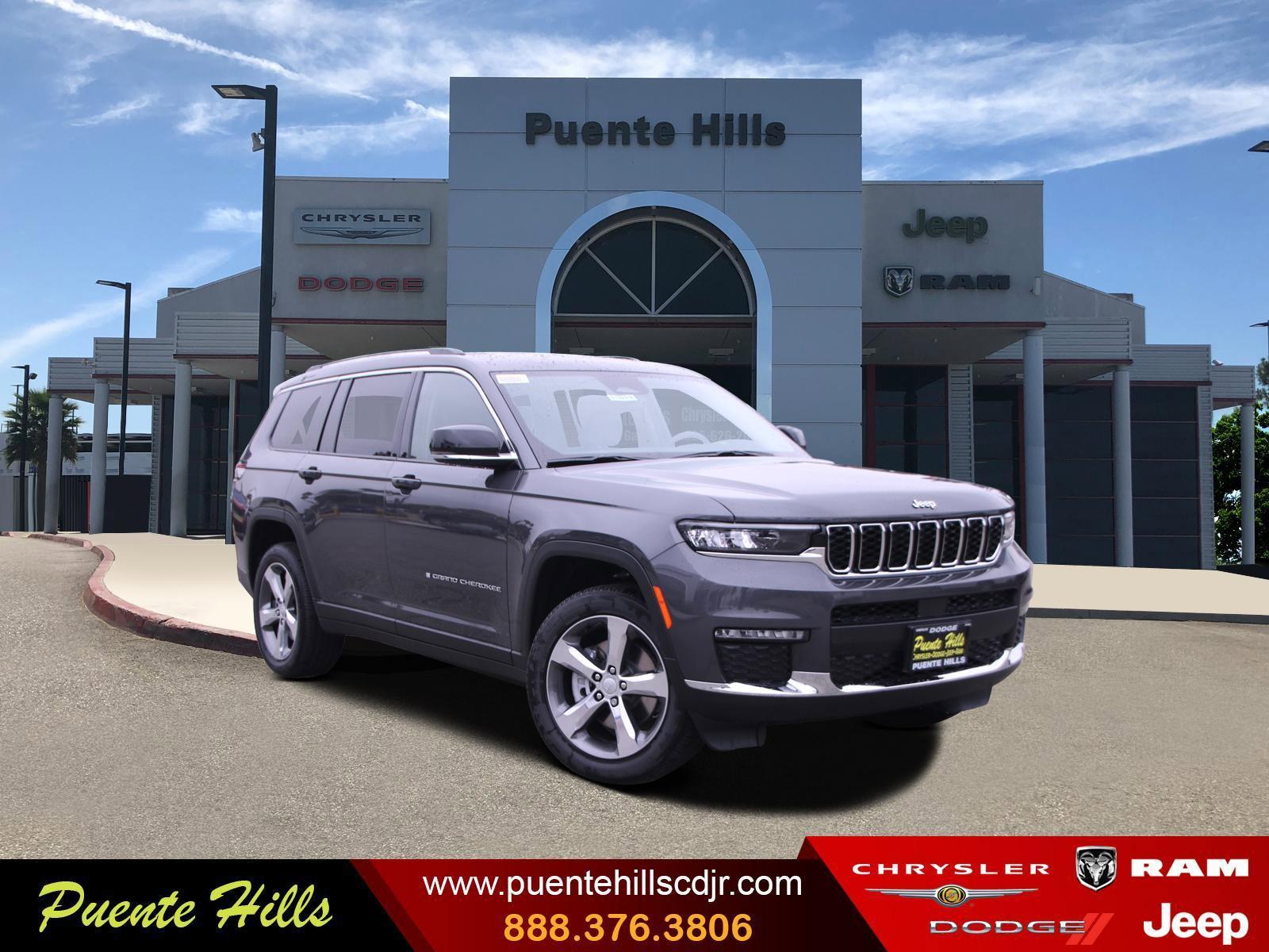 2021 Jeep Grand Cherokee L Limited Limited 4x2 Regular Unleaded V-6 3.6 L/220 [18]
