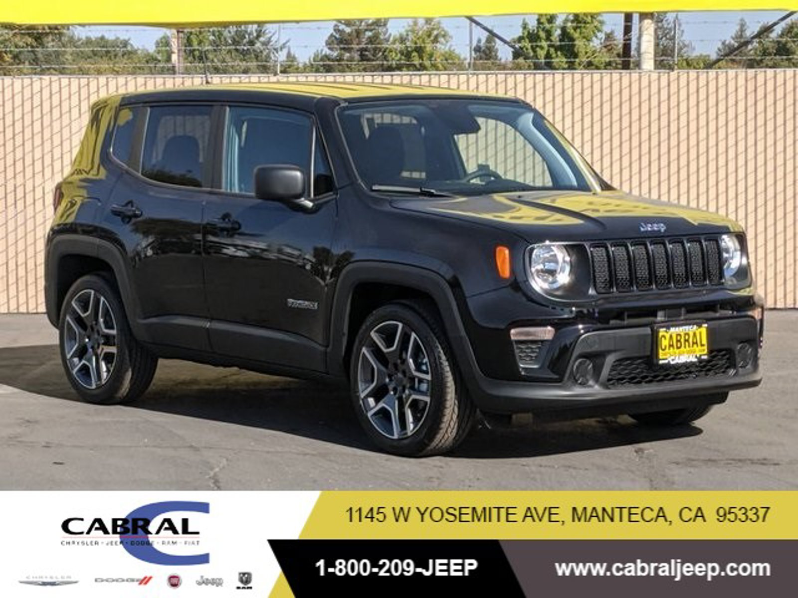 2020 Jeep Renegade Jeepster Jeepster FWD Regular Unleaded I-4 2.4 L/144 [0]