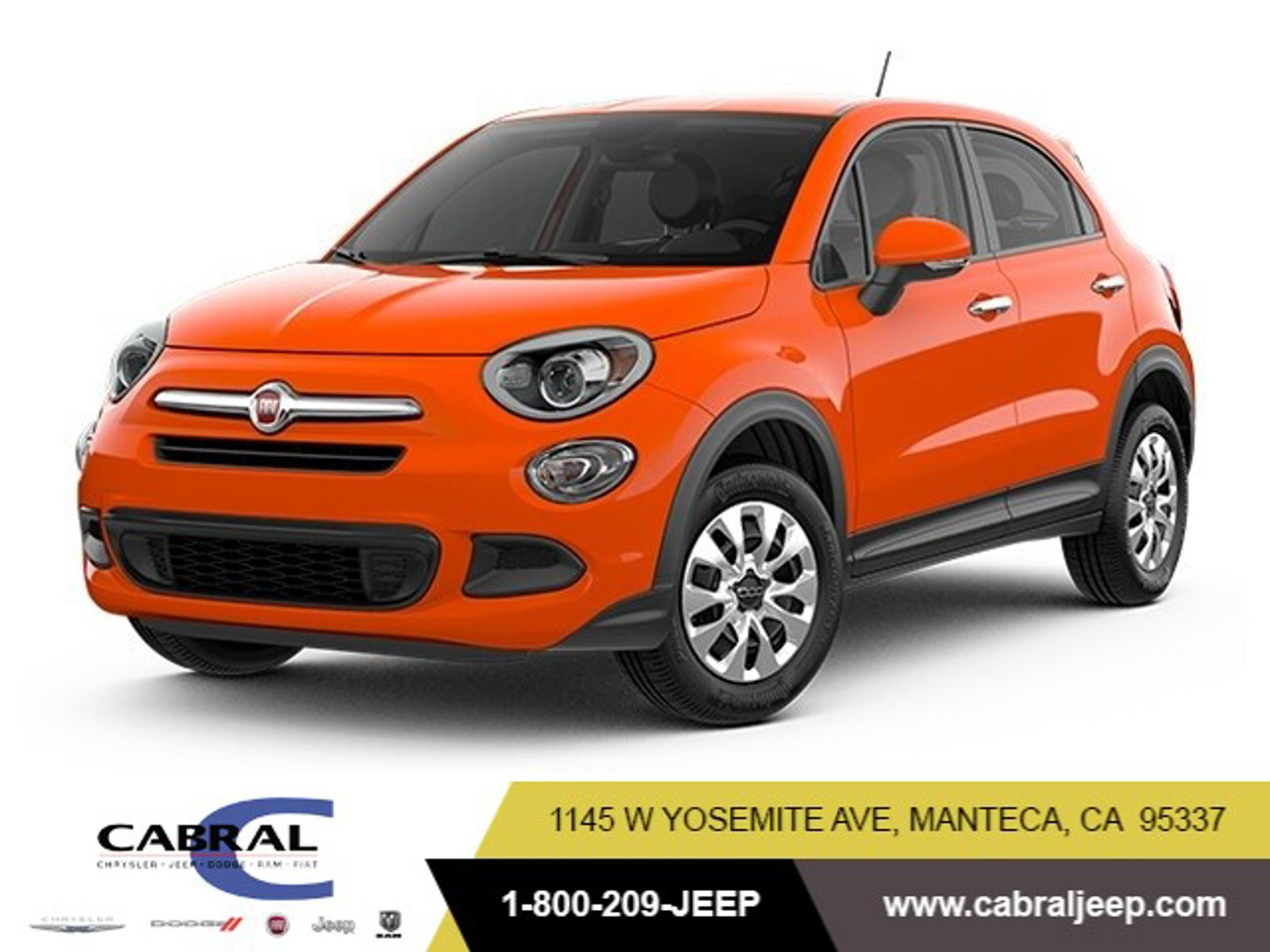 2018 FIAT 500X Pop Pop FWD Intercooled Turbo Premium Unleaded I-4 1.4 L/83 [4]
