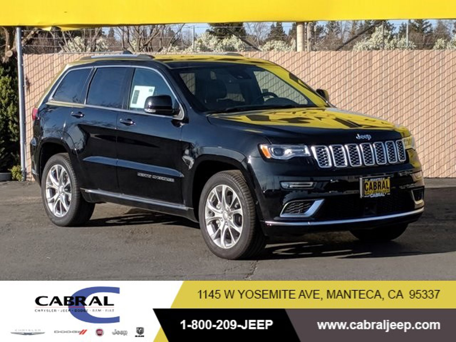 2019 Jeep Grand Cherokee Summit Summit 4x4 Regular Unleaded V-8 5.7 L/345 [1]