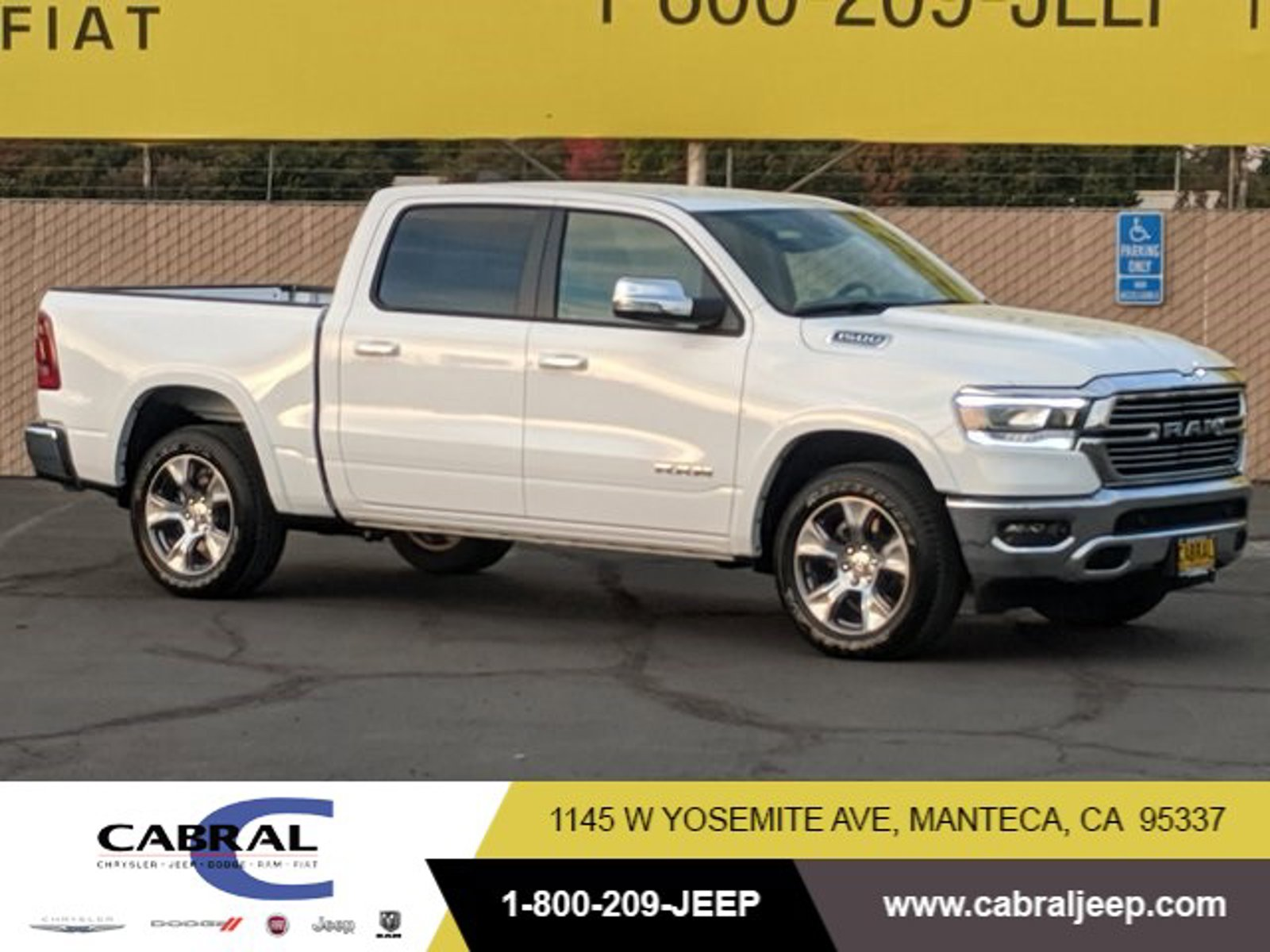 2021 Ram 1500 Laramie Laramie 4x2 Crew Cab 5'7″ Box Regular Unleaded V-8 5.7 L/345 [10]