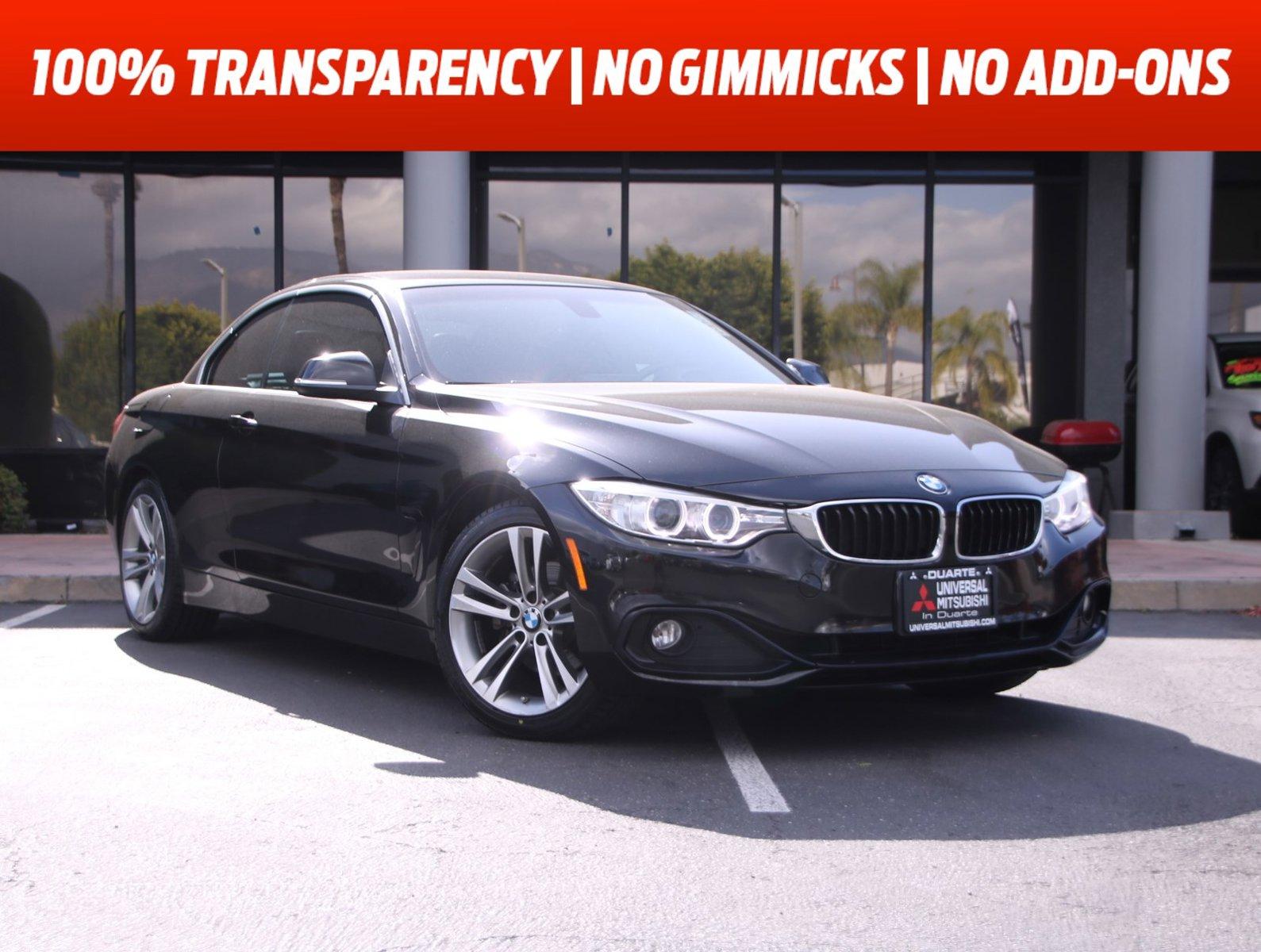 2017 BMW 4 Series 430i 430i Convertible SULEV Intercooled Turbo Premium Unleaded I-4 2.0 L/122 [6]