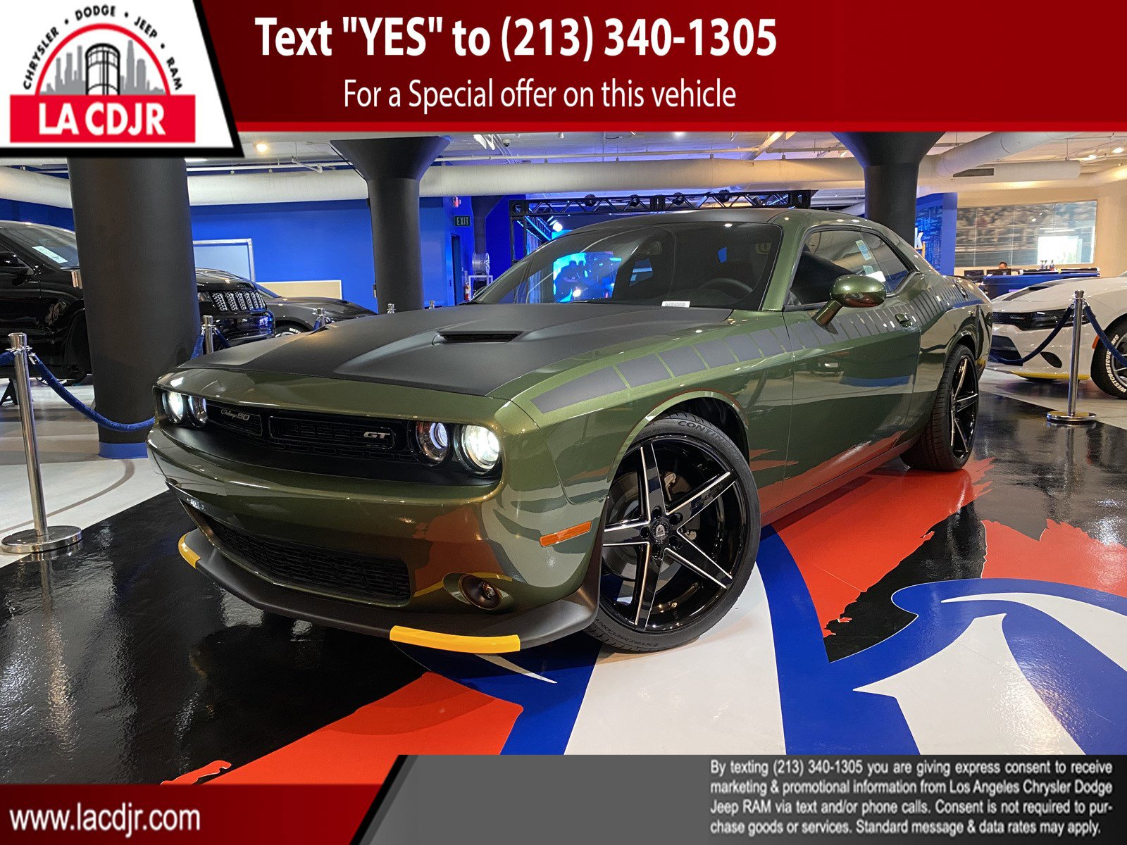 2020 Dodge Challenger GT 50th Ann. GT 50th Ann. RWD *Ltd Avail* Regular Unleaded V-6 3.6 L/220 [13]