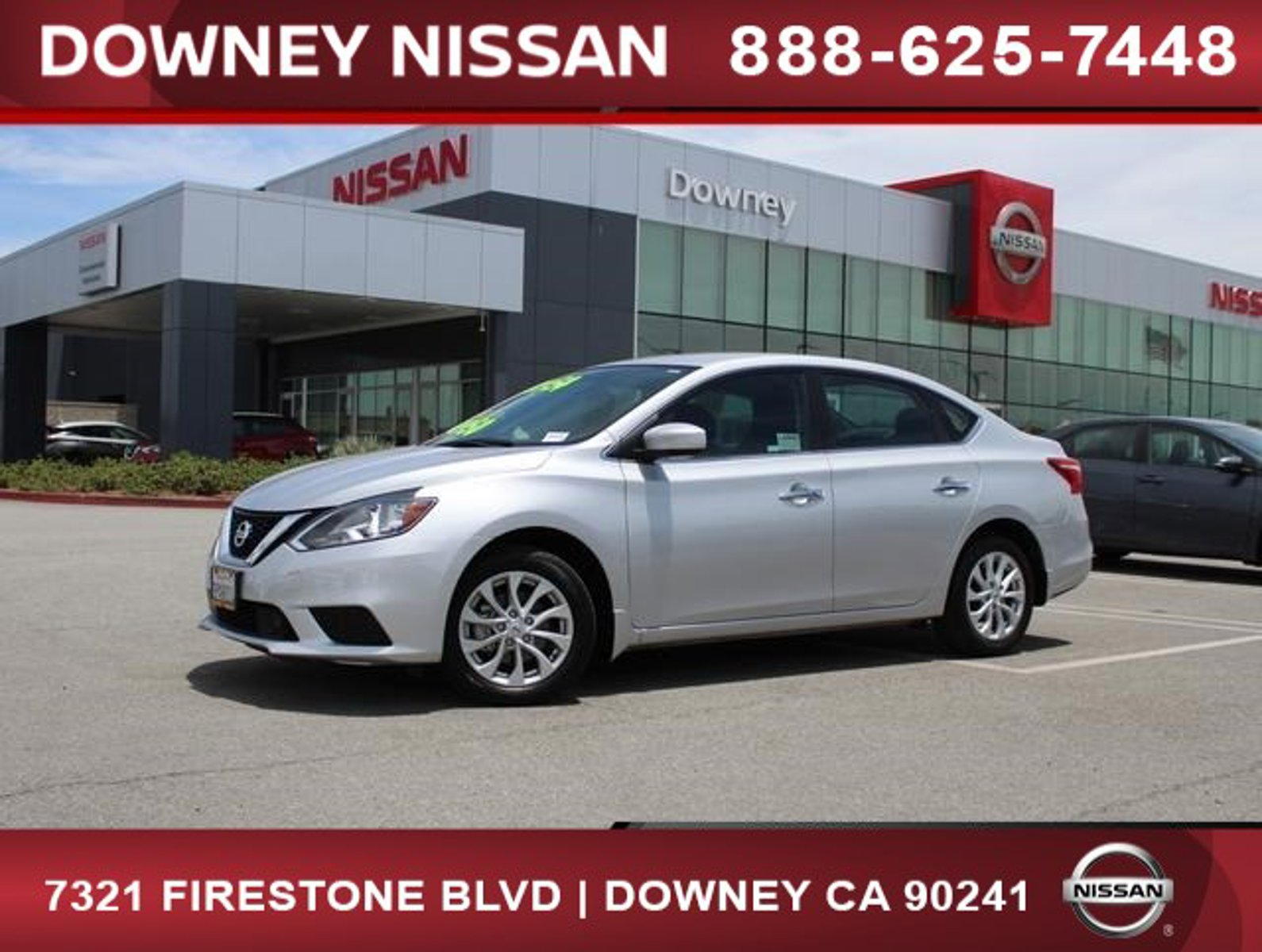 2019 Nissan Sentra SV SV CVT Regular Unleaded I-4 1.8 L/110 [20]