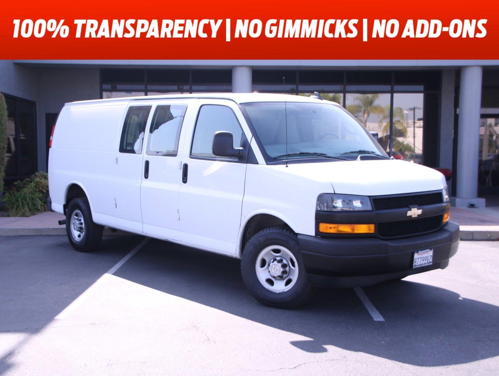 "2020 Chevrolet Express Cargo Van RWD 2500 155"" Gas/Ethanol V8 6.0L/364 [11]"