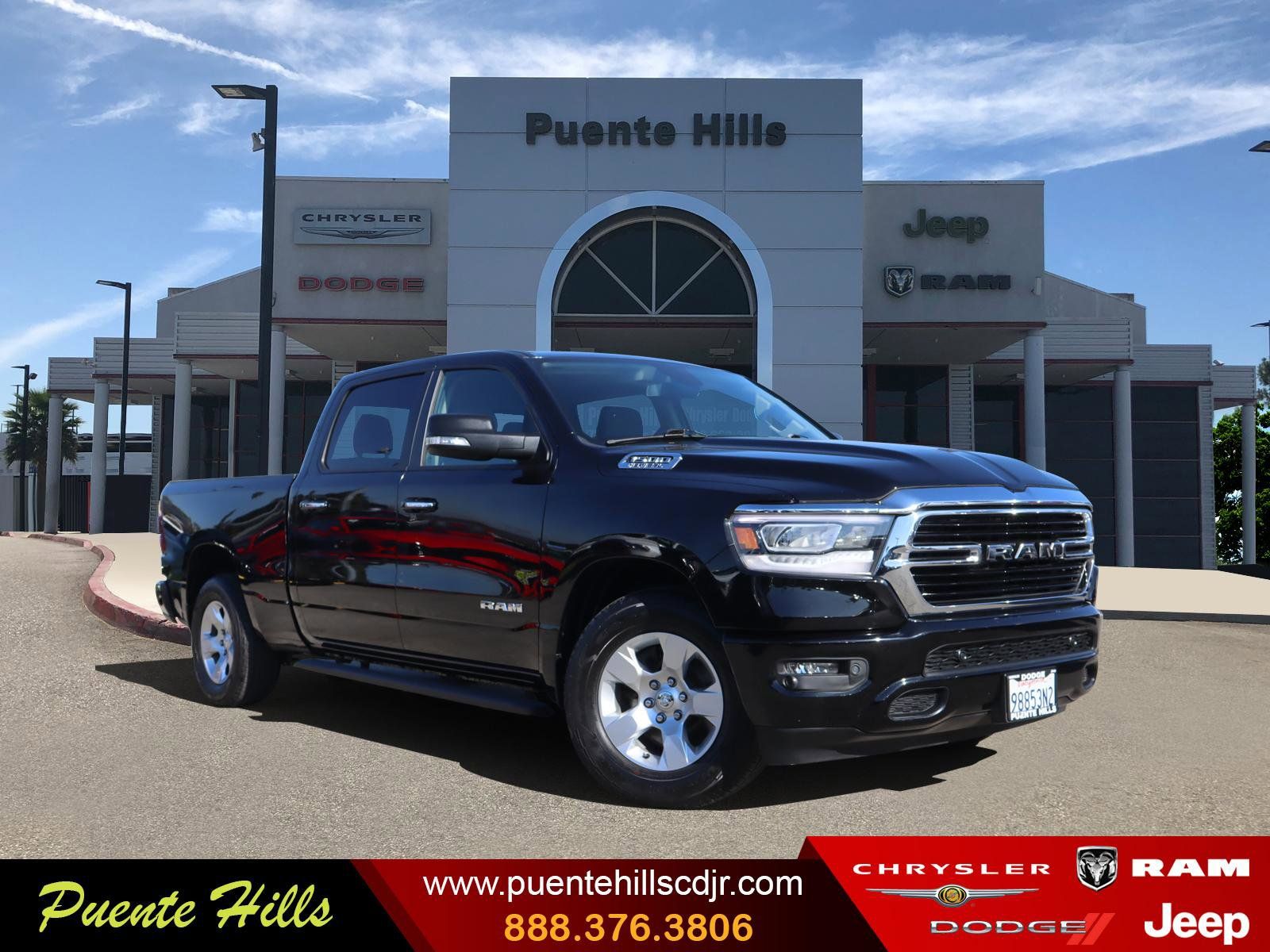 2019 Ram 1500 Big Horn/Lone Star Big Horn/Lone Star 4x2 Crew Cab 6'4″ Box Regular Unleaded V-8 5.7 L/345 [4]