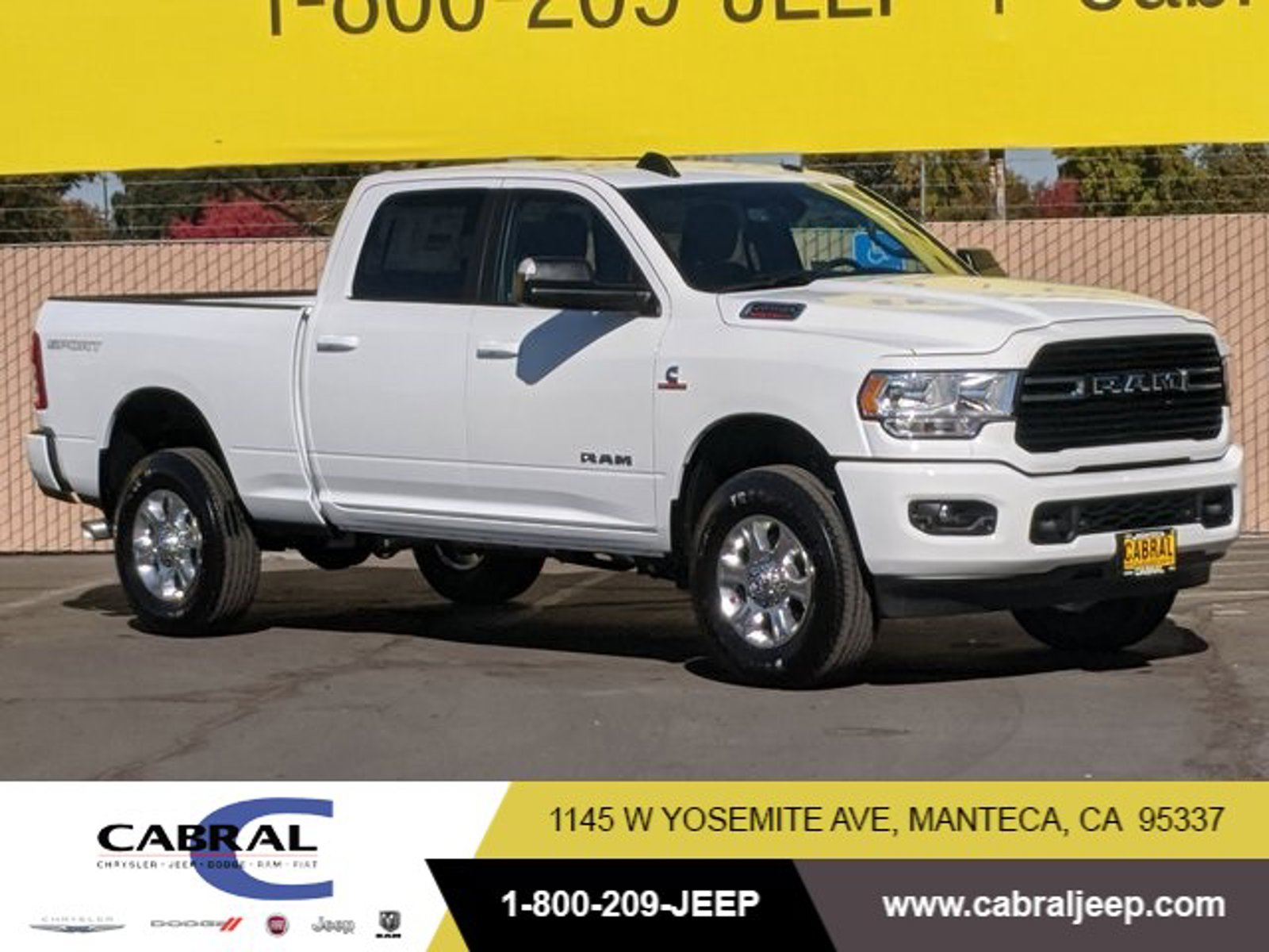 2020 Ram 2500 Big Horn Big Horn 4x4 Crew Cab 6'4″ Box Intercooled Turbo Diesel I-6 6.7 L/408 [15]