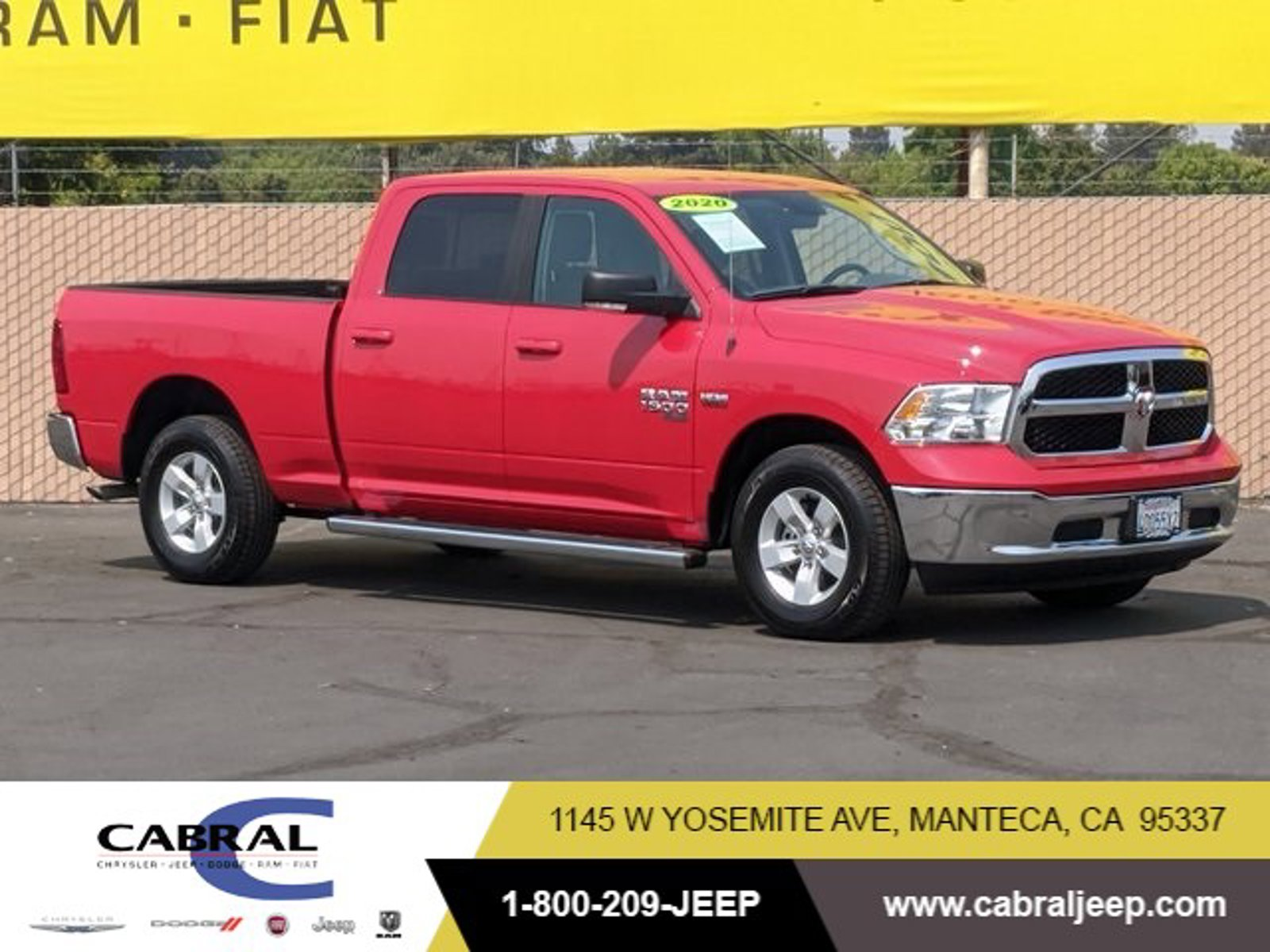 2020 Ram 1500 Classic SLT SLT 4x2 Crew Cab 6'4″ Box Regular Unleaded V-8 5.7 L/345 [6]