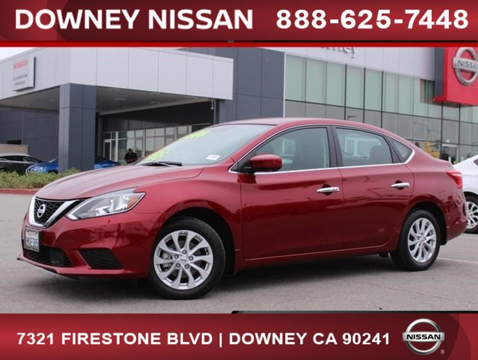2019 Nissan Sentra SV SV CVT Regular Unleaded I-4 1.8 L/110 [17]
