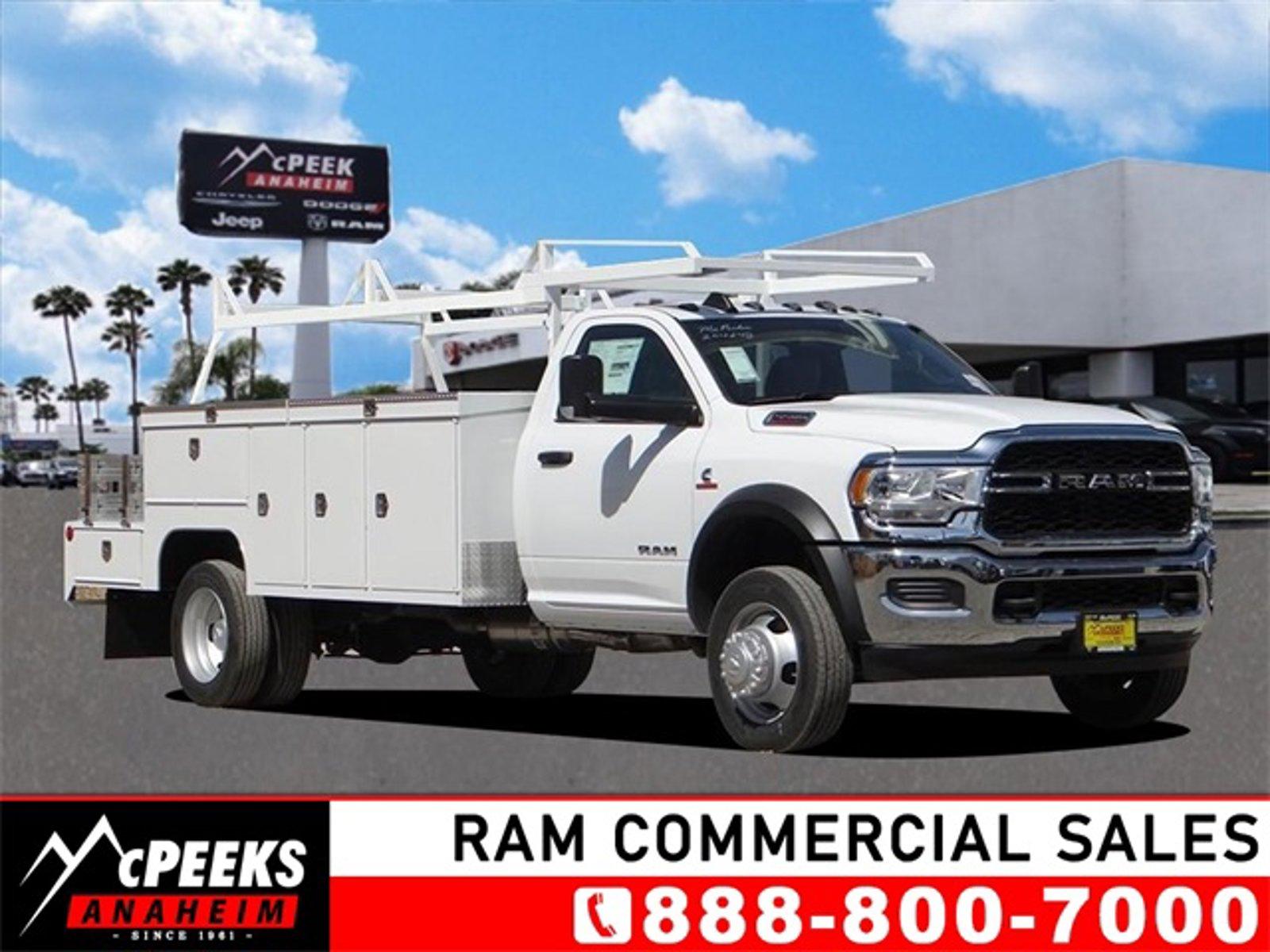 """2021 Ram 5500 Chassis Cab Tradesman Tradesman 4x2 Reg Cab 108"""" CA 192.5"""" WB Intercooled Turbo Diesel I-6 6.7 L/408 [10]"""