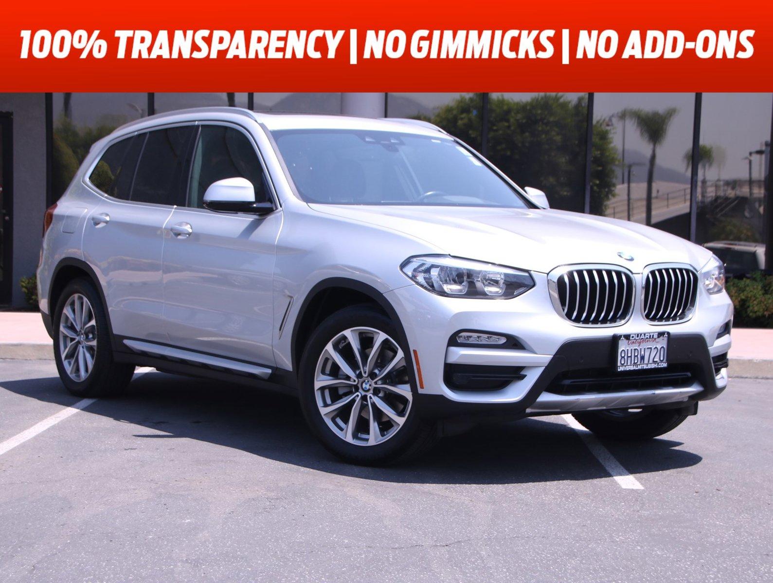 2019 BMW X3 sDrive30i sDrive30i Sports Activity Vehicle Intercooled Turbo Premium Unleaded I-4 2.0 L/122 [2]