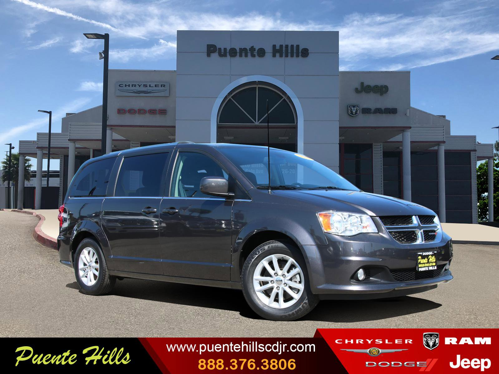 2019 Dodge Grand Caravan SXT SXT Wagon Regular Unleaded V-6 3.6 L/220 [0]