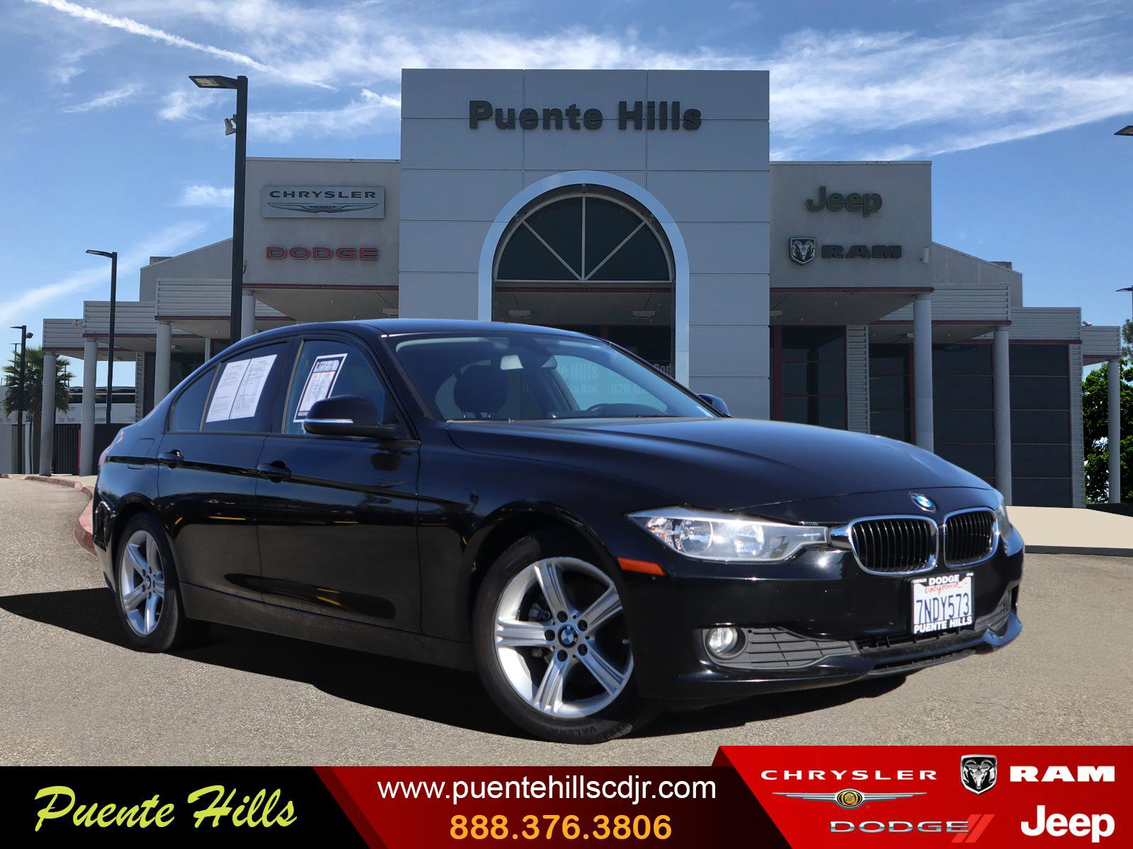 2015 BMW 3 Series 320i 4dr Sdn 320i RWD South Africa Intercooled Turbo Premium Unleaded I-4 2.0 L/122 [8]
