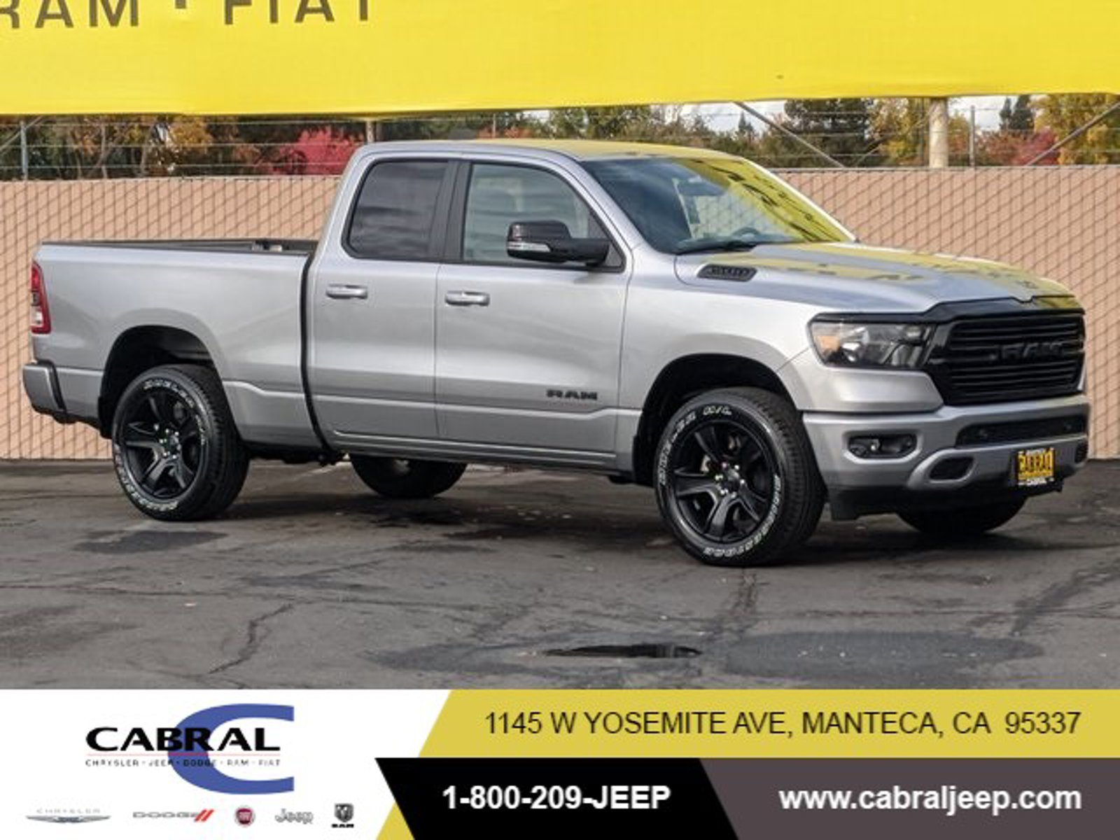 2021 Ram 1500 Big Horn Big Horn 4x4 Quad Cab 6'4″ Box Regular Unleaded V-8 5.7 L/345 [9]