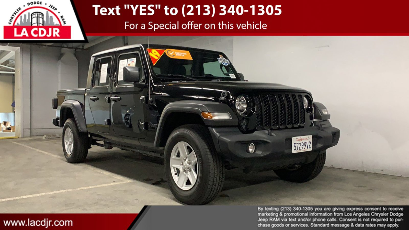 2020 Jeep Gladiator Sport S Sport S 4x4 Regular Unleaded V-6 3.6 L/220 [0]