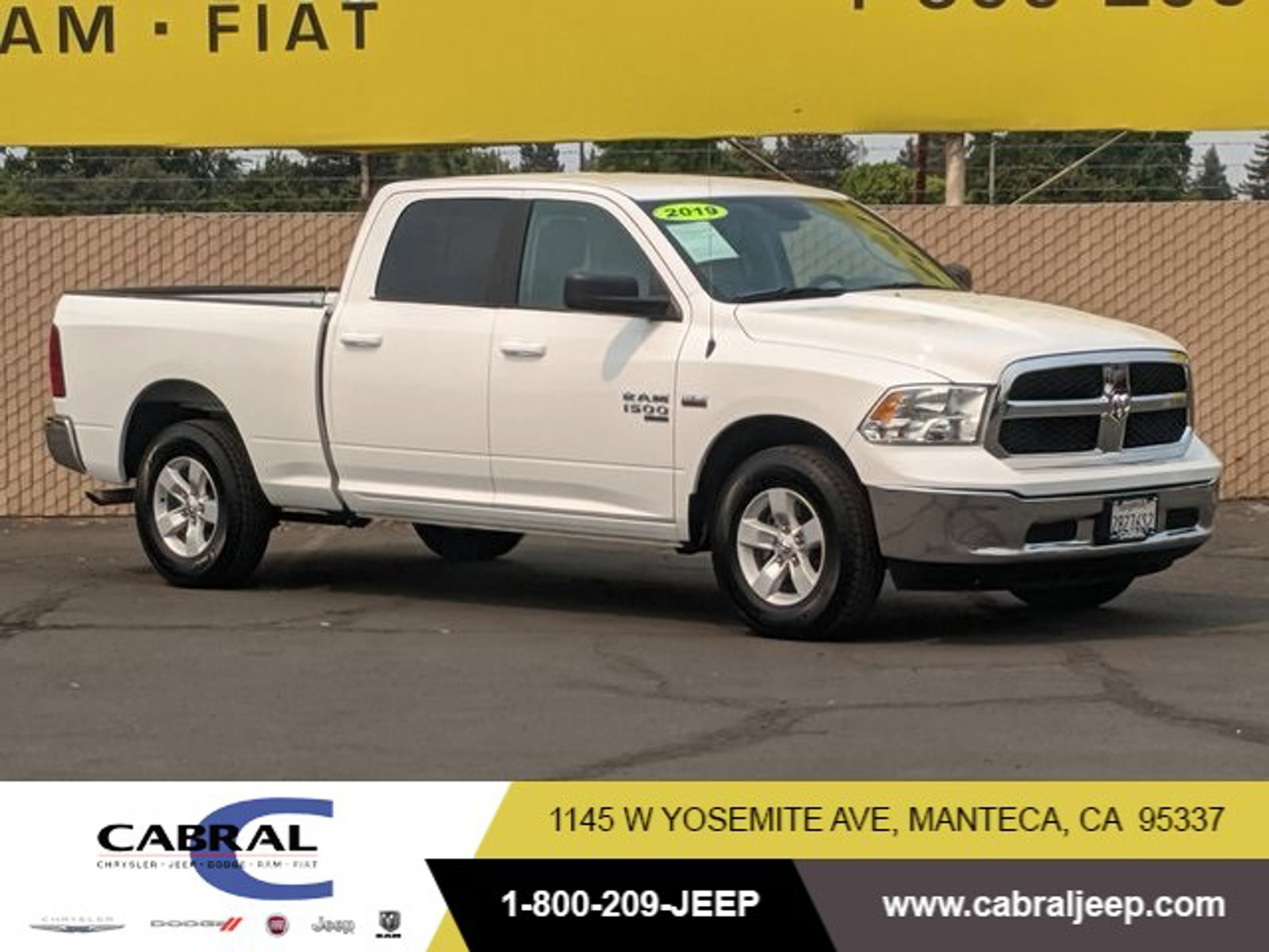 2019 Ram 1500 Classic SLT SLT 4x2 Crew Cab 6'4″ Box Regular Unleaded V-8 5.7 L/345 [3]