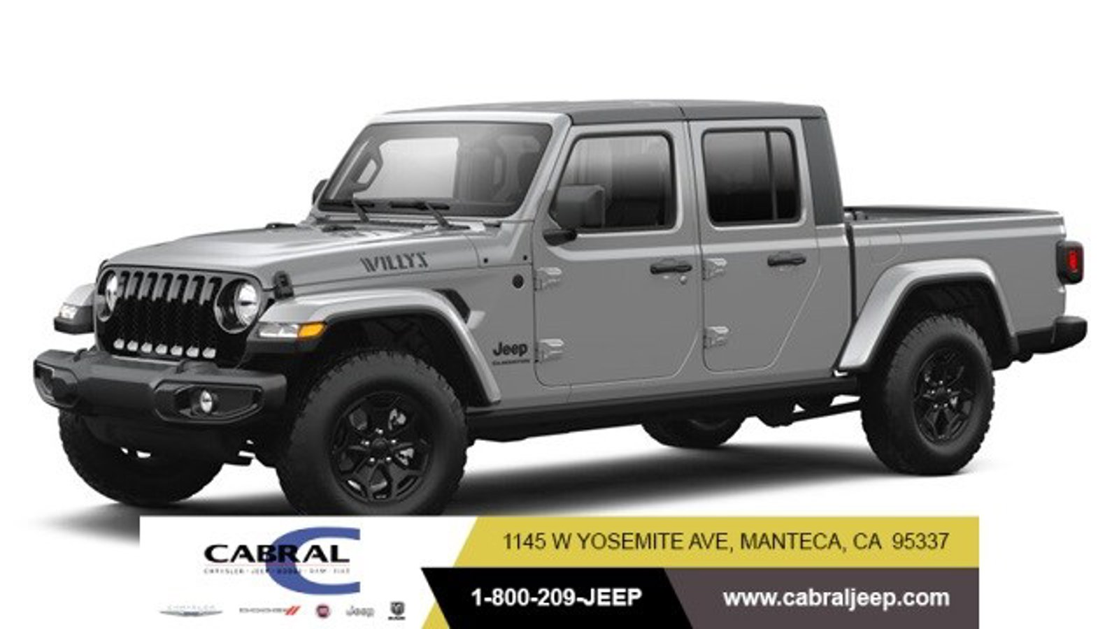 2021 Jeep Gladiator Willys Willys 4x4 Regular Unleaded V-6 3.6 L/220 [7]