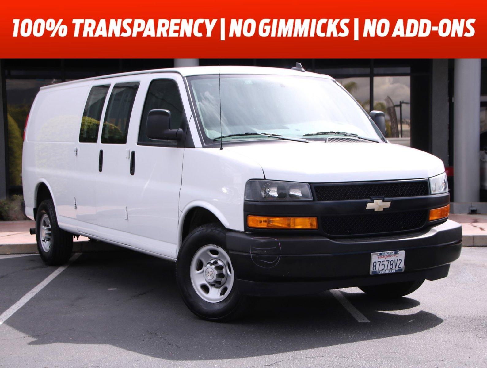 "2020 Chevrolet Express Cargo Van RWD 2500 155"" Gas/Ethanol V8 6.0L/364 [5]"