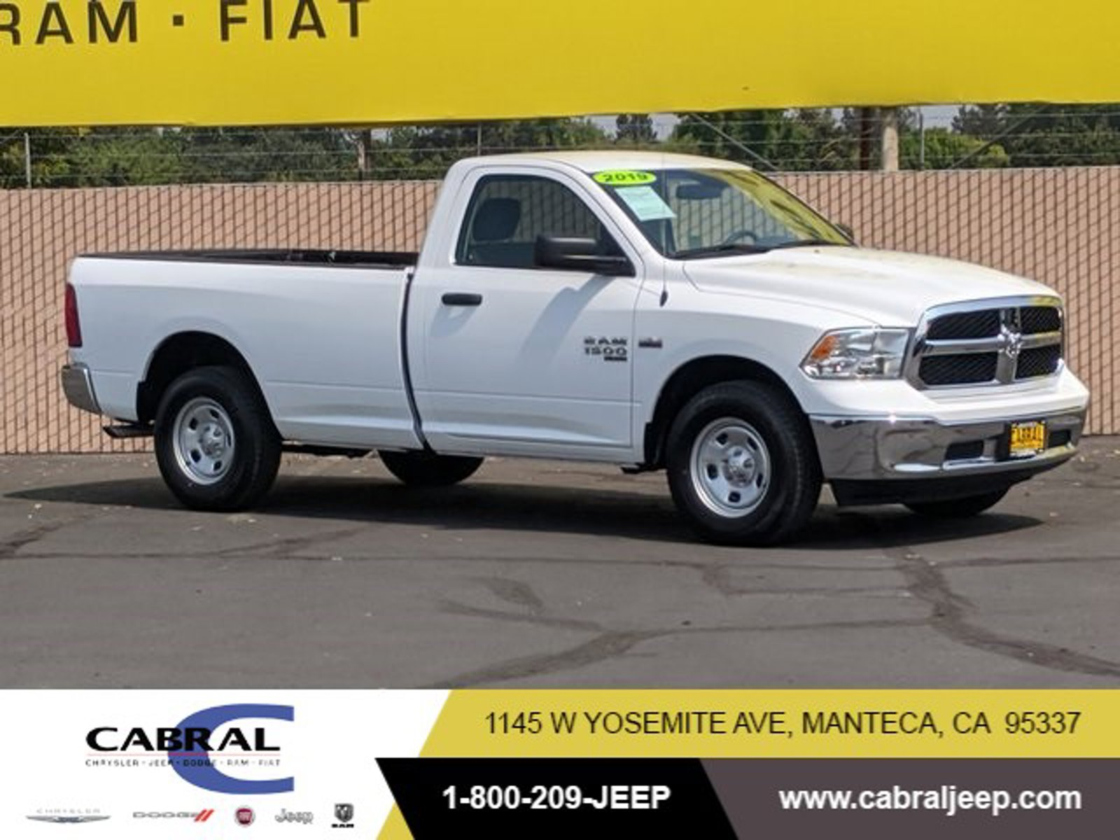 2019 Ram 1500 Classic Tradesman Tradesman 4x2 Reg Cab 8′ Box Regular Unleaded V-8 5.7 L/345 [1]
