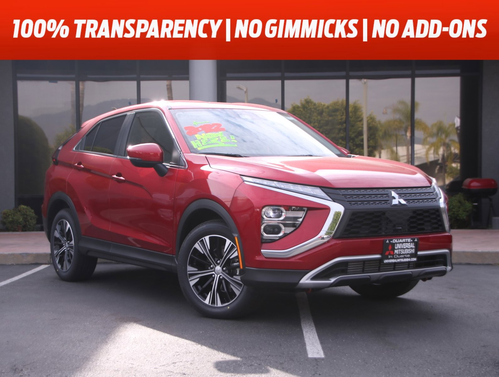 2022 Mitsubishi Eclipse Cross SE SE FWD Intercooled Turbo Regular Unleaded I-4 1.5 L/91 [5]