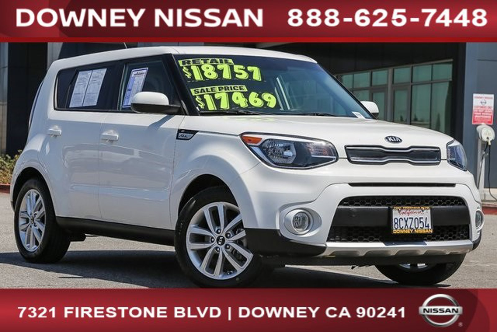 2018 Kia Soul + + Auto Regular Unleaded I-4 2.0 L/122 [0]