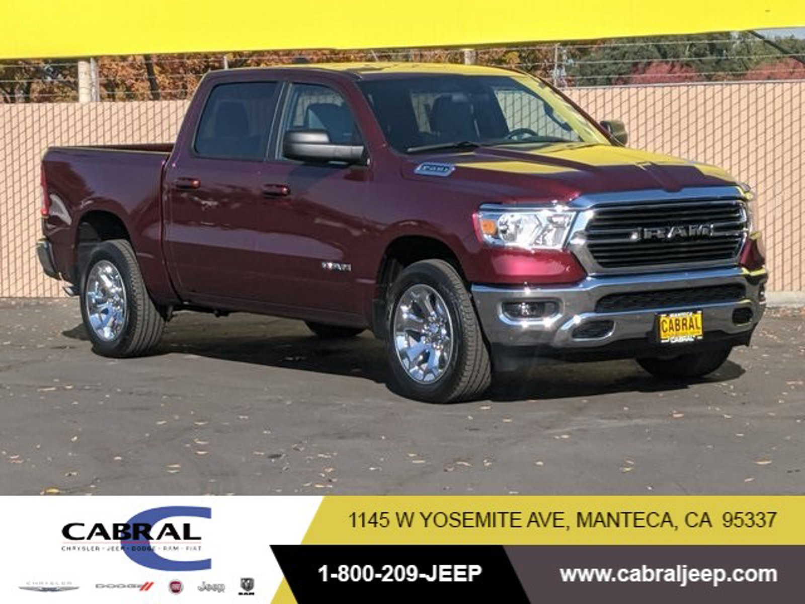 2021 Ram 1500 Big Horn Big Horn 4x2 Crew Cab 5'7″ Box Gas/Electric V-6 3.6 L/220 [2]