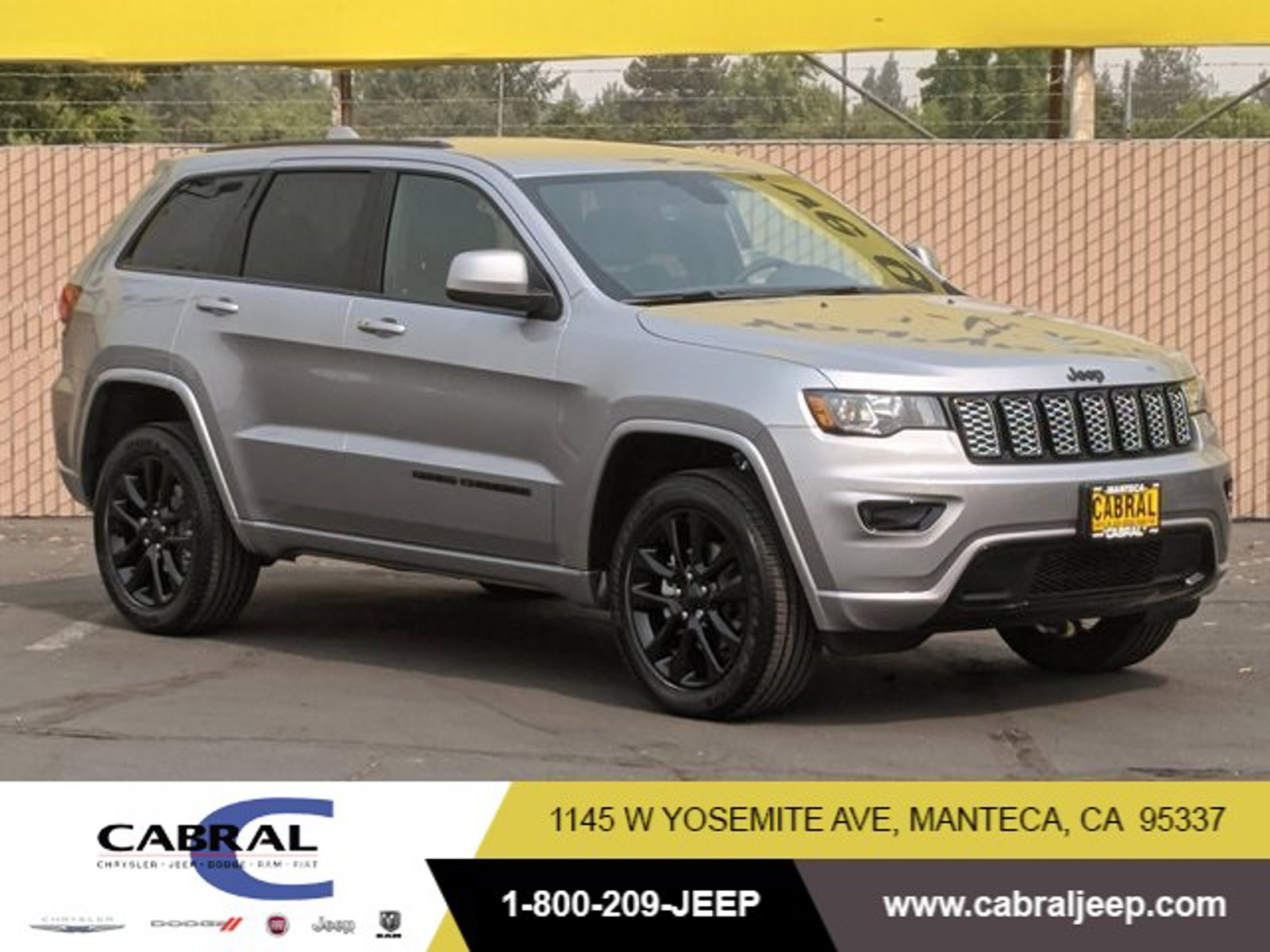 2020 Jeep Grand Cherokee Altitude Altitude 4x4 Regular Unleaded V-6 3.6 L/220 [7]