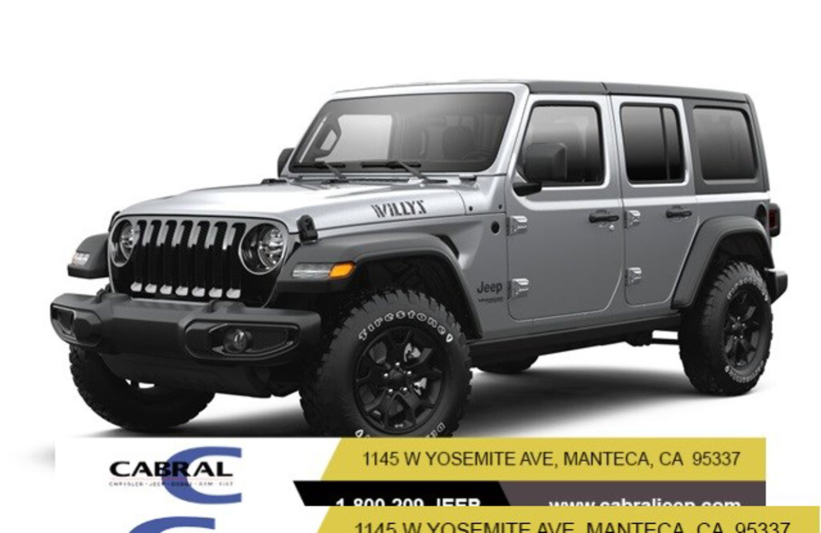 2021 Jeep Wrangler Willys Willys Unlimited 4x4 Gas/Electric V-6 3.6 L/220 [1]